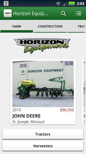 Horizon Equipment Inc