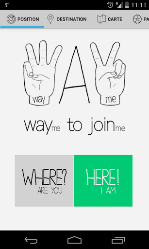 WAYme - Meet up with friends