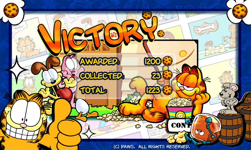 Garfield's Defense- screenshot