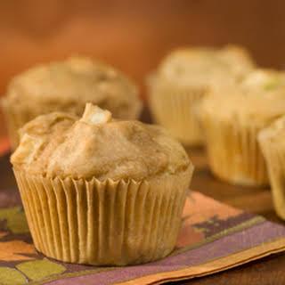 Morning Peanut Butter & Apple Muffins.