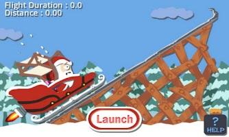 Screenshot of A Christmas Santa