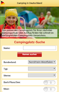 Camping-in-Deutschland- screenshot thumbnail