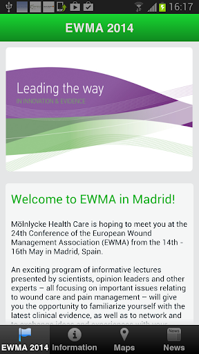 Mölnlycke Health Care at EWMA