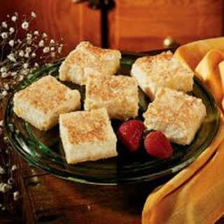 Pineapple Cheesecake Squares.