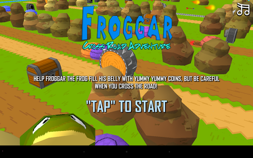Froggar Cross Road Adventure