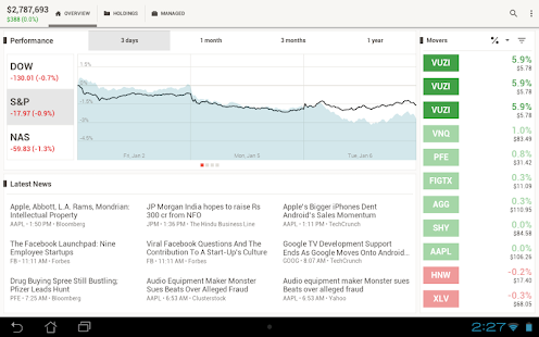 SigFig - Investment Optimizer - screenshot thumbnail