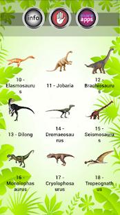 【免費音樂App】恐龍的聲音-APP點子