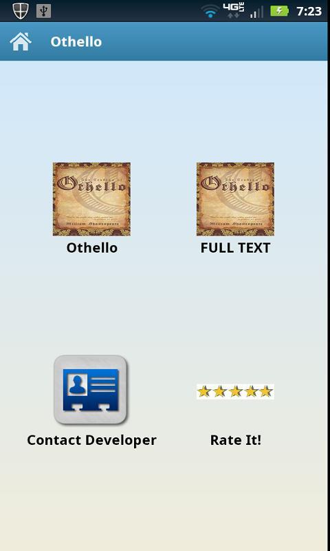 Othello's title