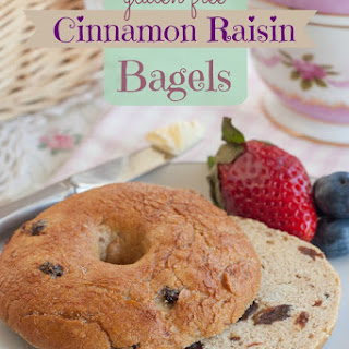 Gluten Free Cinnamon Raisin Bagels
