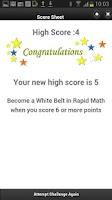 Screenshot of Rapid Mental Math Tricks Lite