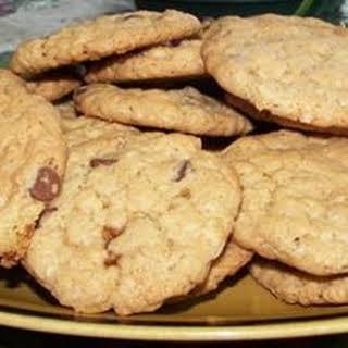 Crisp Oatmeal Cookies.