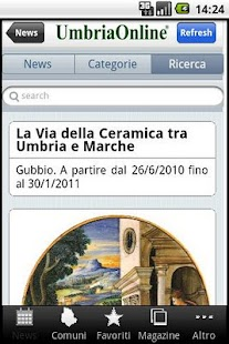 Umbria OnLine - screenshot thumbnail