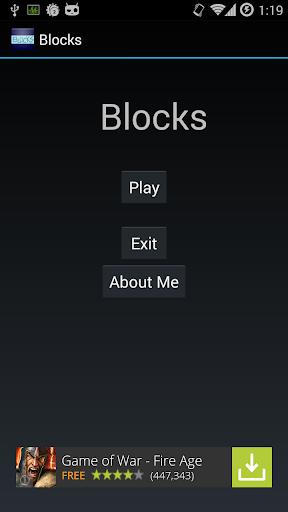 Blocks - Dodge the Meteors