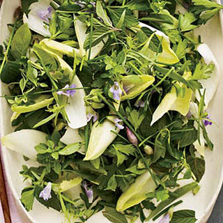 Herb-and-Endive Salad with Creamy Lime Dressing