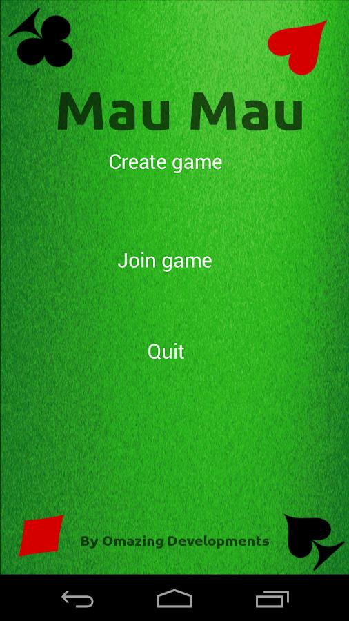 mau mau app