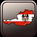 Map of Austria icon