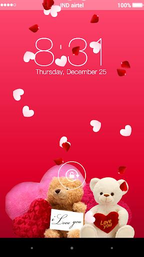 Valentine Teddy Yo Locker