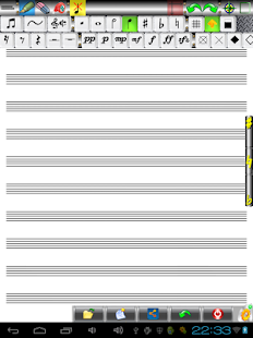 Music Score Pad-Free Notation- screenshot thumbnail