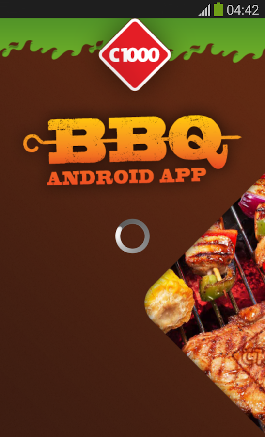 BBQ app - screenshot