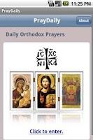 Screenshot of PrayDaily (Orthodox)