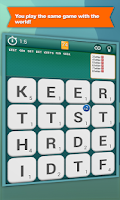 Screenshot of Worgle : Multiplayer Word Game