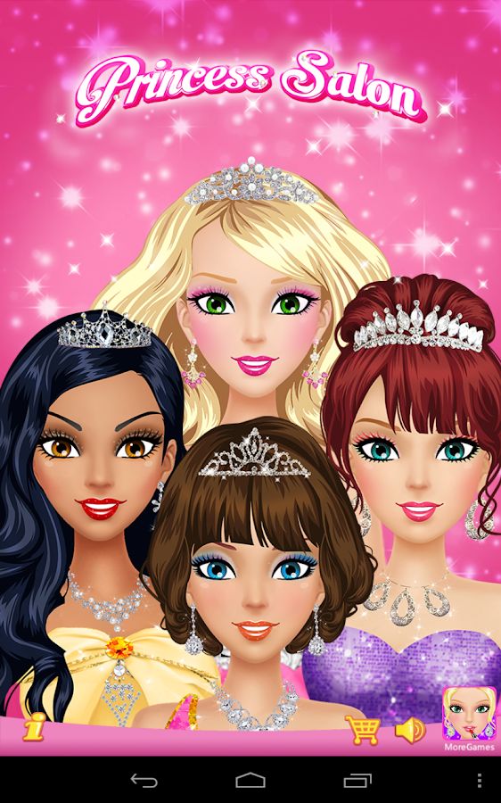 Hair salon games app