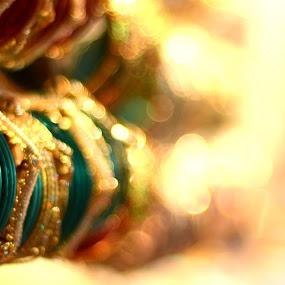 bangles by Pritam Das - Artistic Objects Jewelry ( abstract, prime lens, street, nikon d, bangles, bokeh, closeup )
