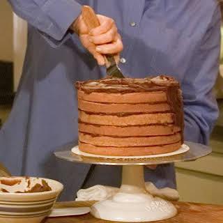 Old-Fashioned Chocolate Cake.