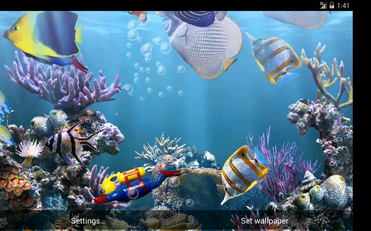 aquarium live wallpapers free
