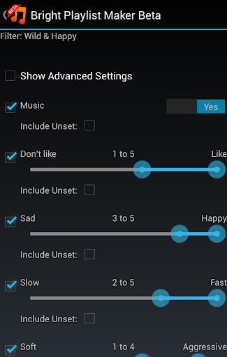 【免費音樂App】Bright Playlist Maker (Beta)-APP點子