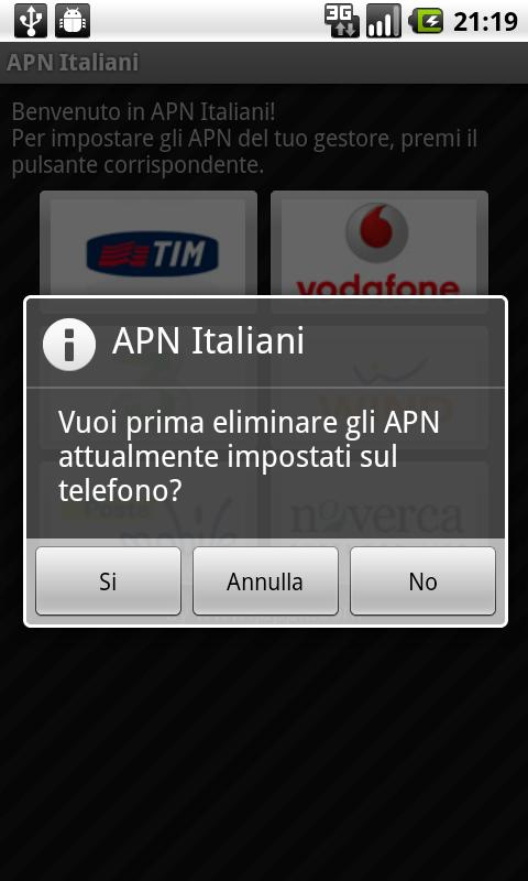 APN Italy - screenshot