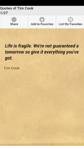 Quotes of Tim Cook