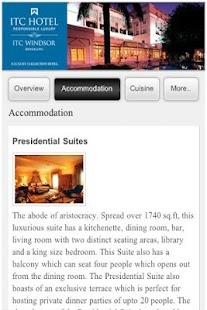 ITC Hotels- screenshot thumbnail