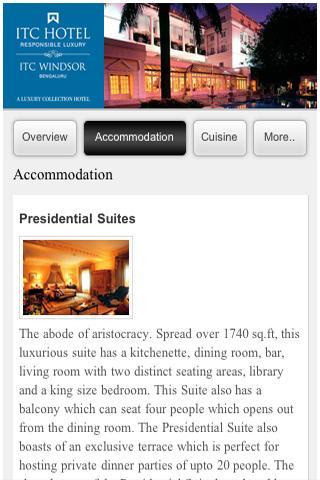 ITC Hotels- screenshot