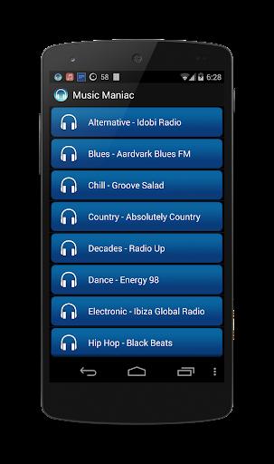 Music Maniac Radio