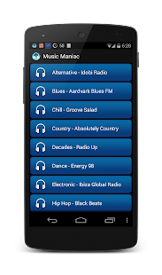 Music Maniac Radio - screenshot thumbnail