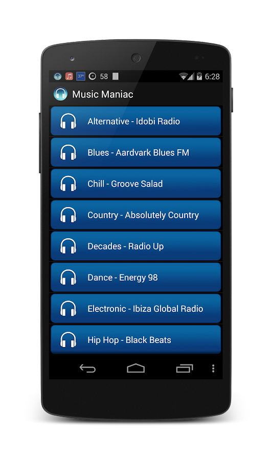 Music Maniac Radio - screenshot