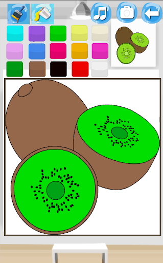 Coloring Fruits Paint  screenshots 2