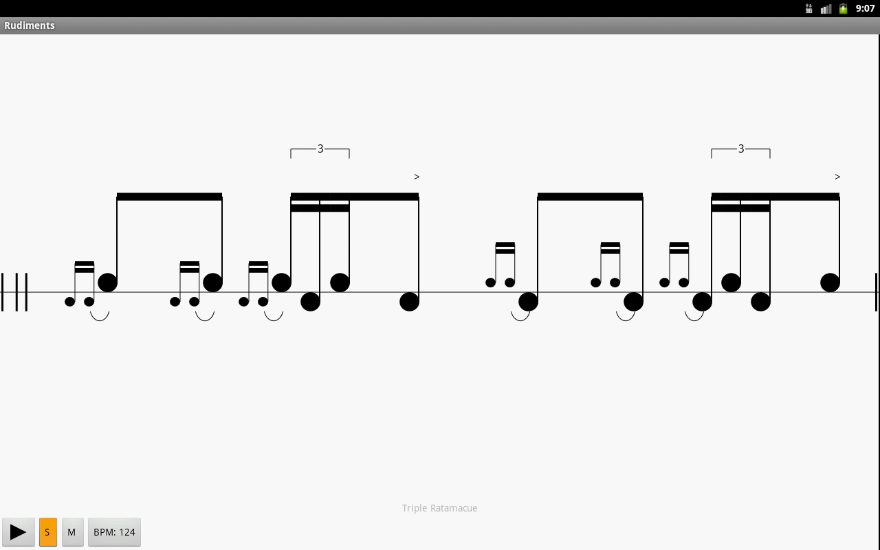 Rudiments by RTF- screenshot