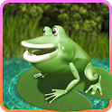 Jumping Frog 3D (Jump advance) icon