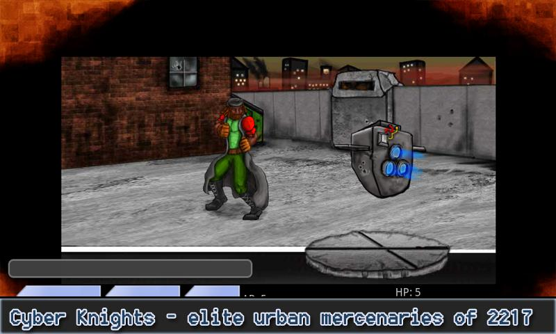 Cyber Knights RPG- screenshot