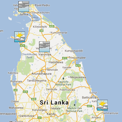 Sri Lanka Weather - screenshot