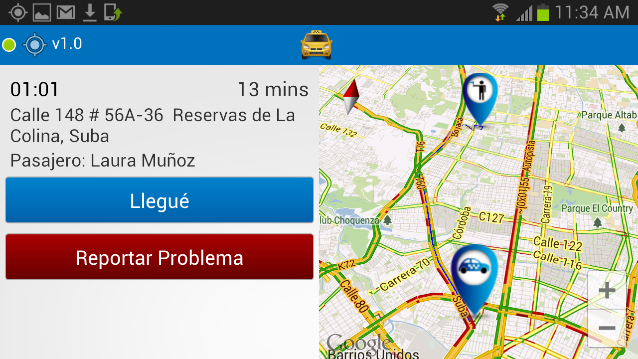 Smart Taxi - Taxista - screenshot