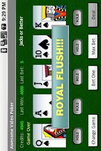 Awesome Video Poker! - screenshot thumbnail