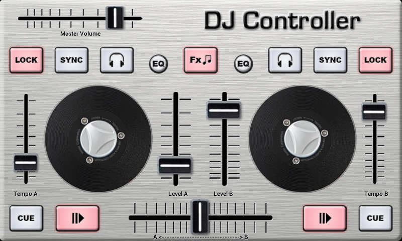 DJ Control - screenshot