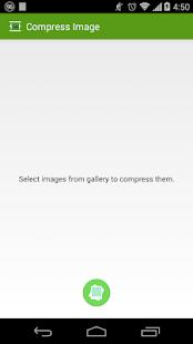 Compress Image Screenshot