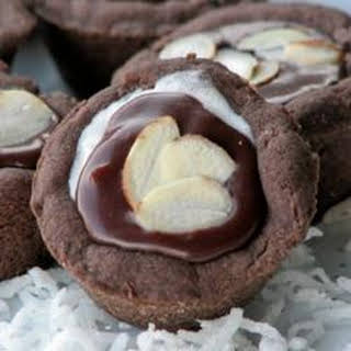 Almond Chocolate Coconut Cups.