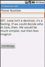 101 Romantic SMS Android Lifestyle