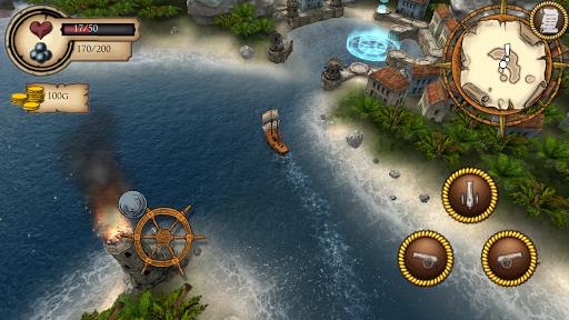 Игра Pirate Dawn для планшетов на Android
