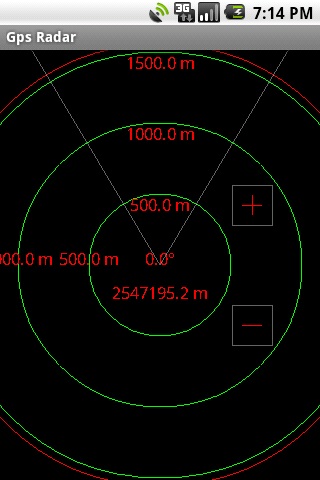 Gps Radar Screenshot 1